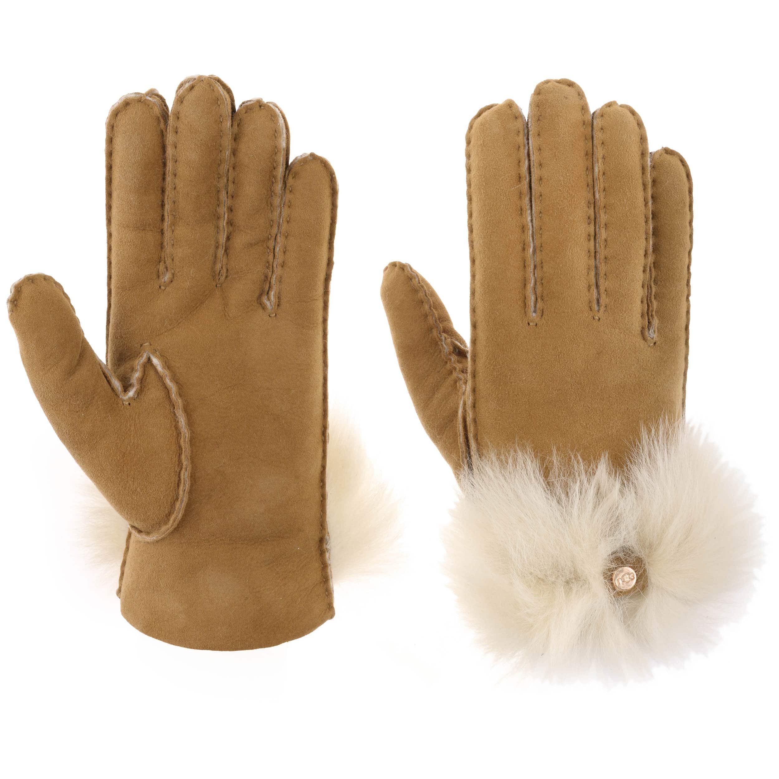 gant ugg femme noir