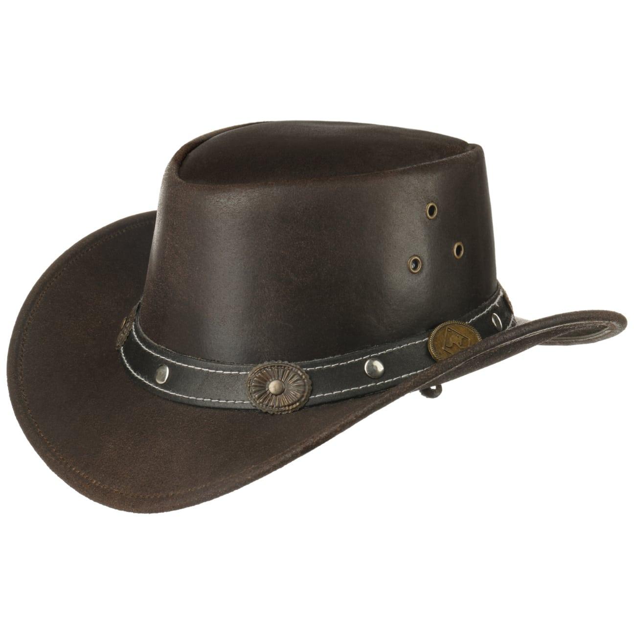 Chapeau en Cuir Reno Enfant by Scippis  cuir naturel