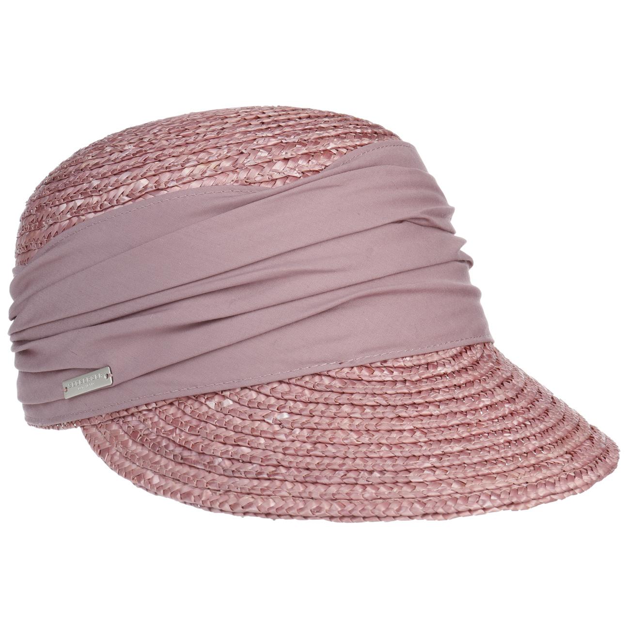 Casquette Grace en Paille by Seeberger  casquette d`été