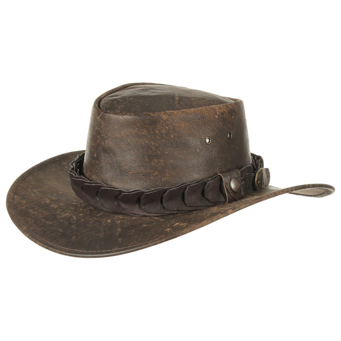 Chapeau en Cuir Wild Roo by Jacaru  chapeau de rodéo