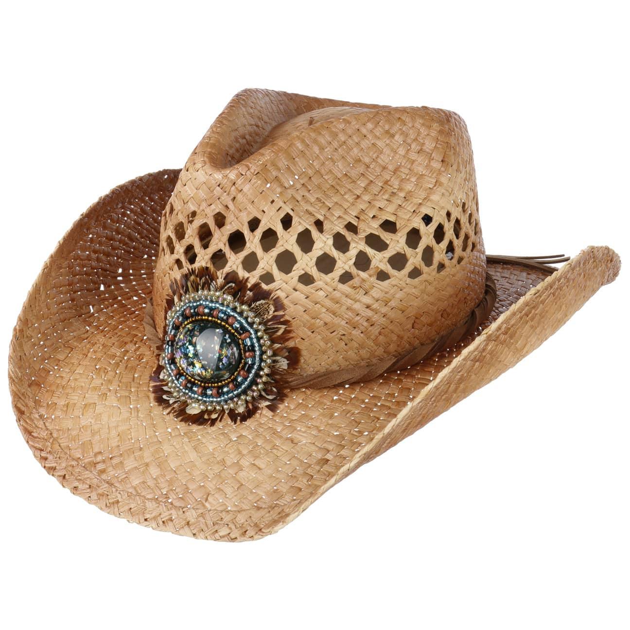 Chapeau Western Green Eye by Conner  chapeaux de cowboy