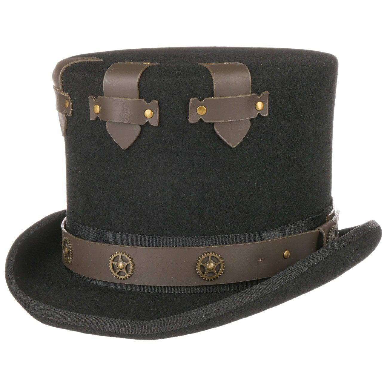 Haut-de-Forme Secret Steampunk by Conner  chapeau pour homme