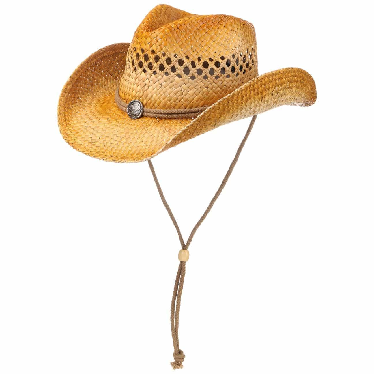 Chapeau Western Peanut Burned by Conner  chapeau de soleil