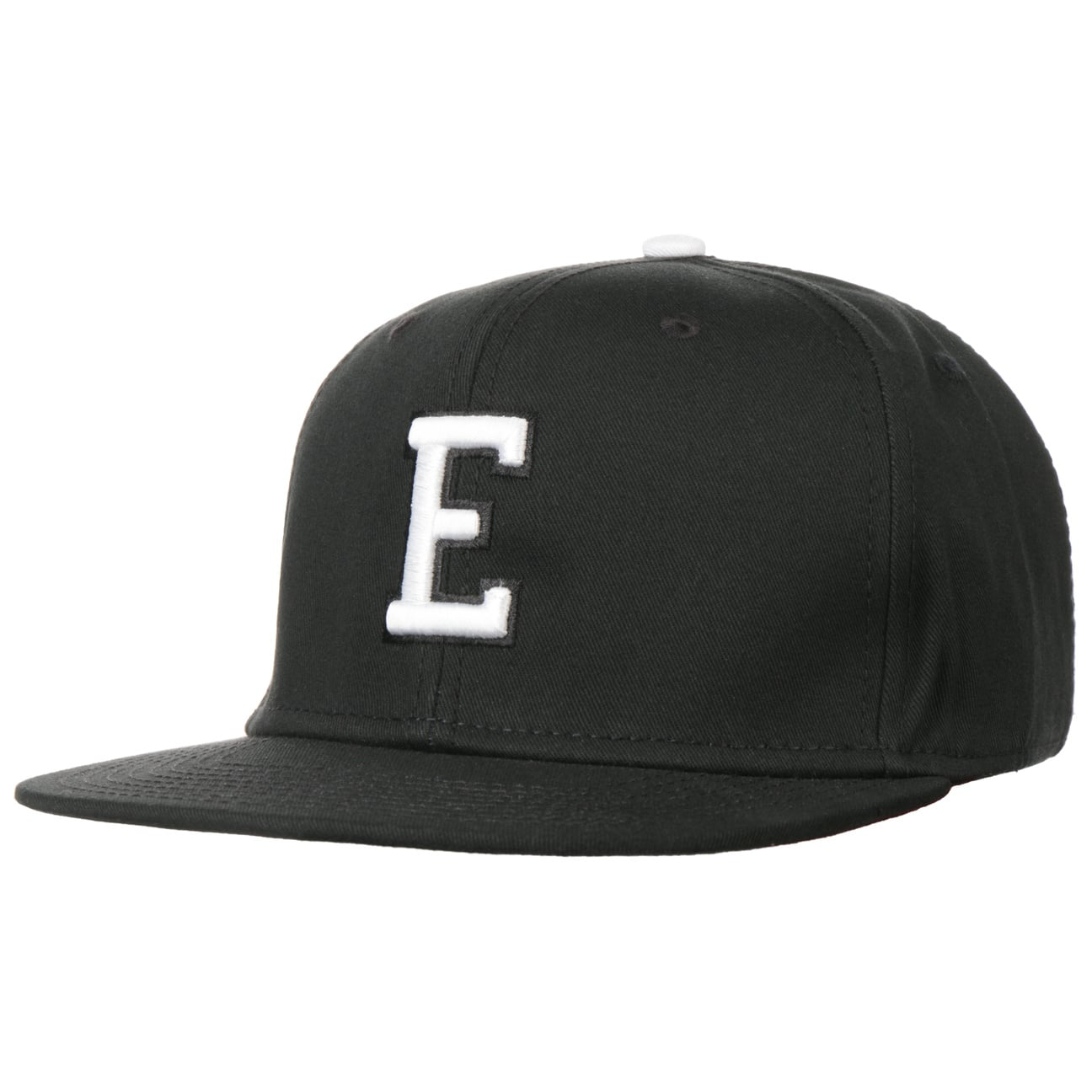 Casquette E Letter Snapback Cap  casquette de baseball