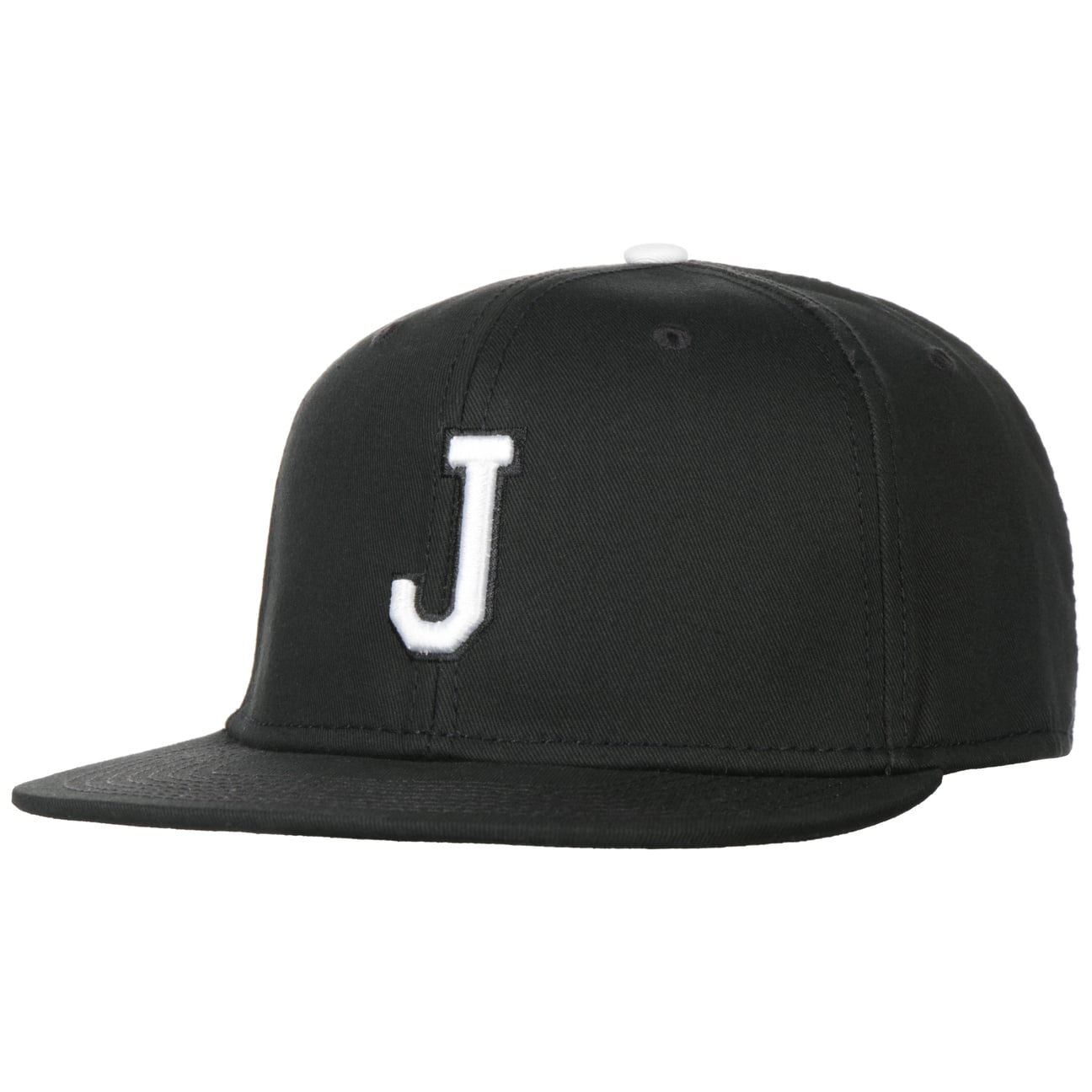 Casquette J Letter Snapback Cap  casquette de baseball
