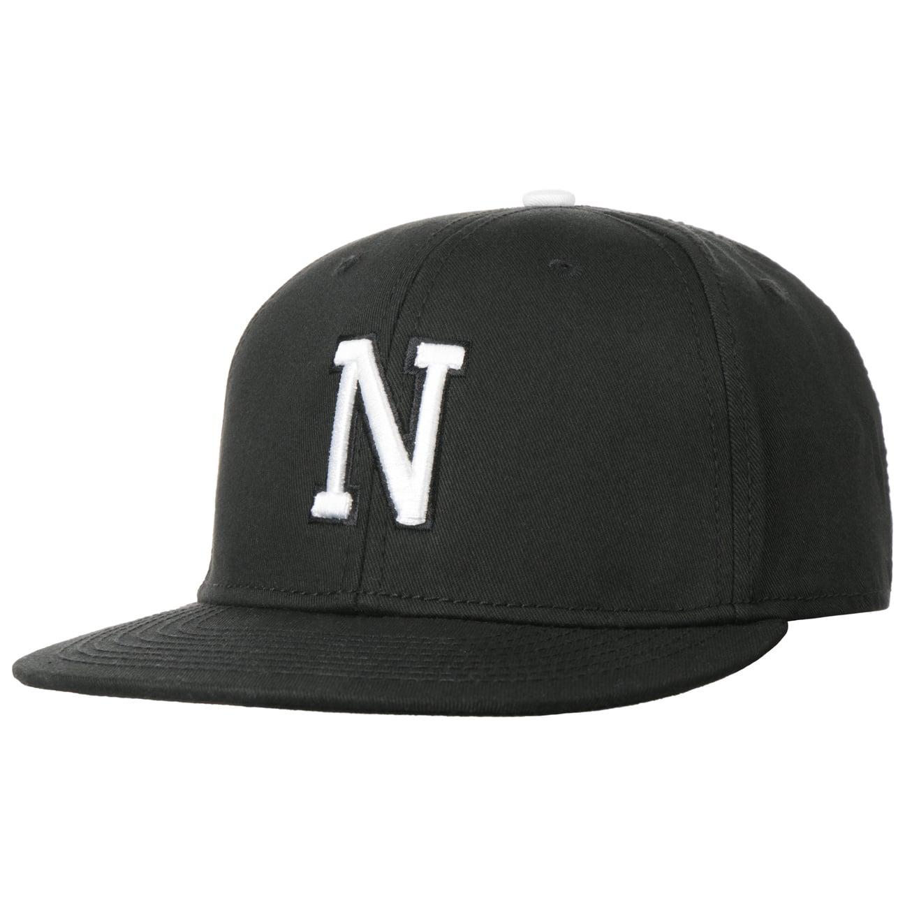 Casquette N Letter Snapback Cap  casquette de baseball