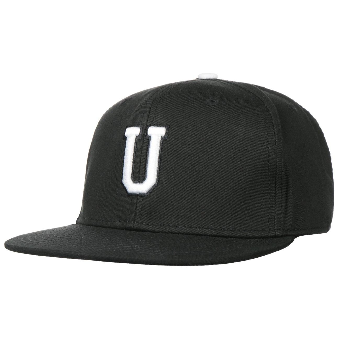 Casquette U Letter Snapback Cap  casquette de baseball