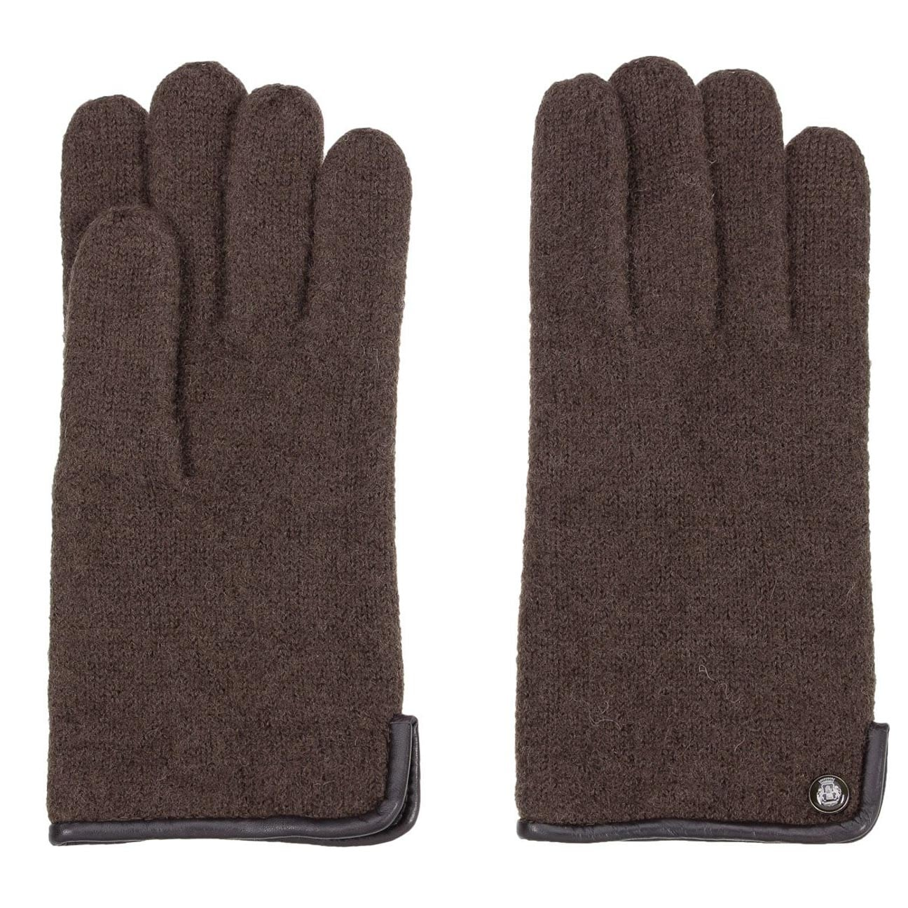 Gants pour Homme en Laine Foulée by Roeckl  paire de gants pour homme