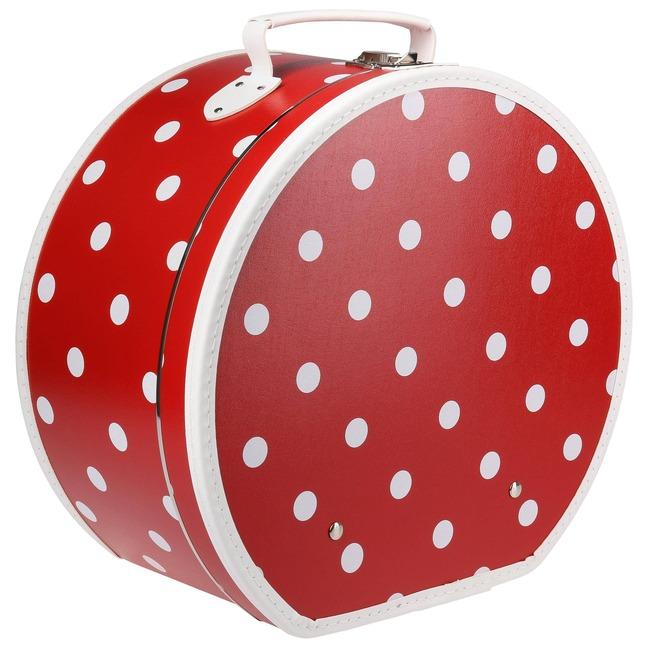 nouveau concept ventes spéciales prix raisonnable Boite à Chapeau à Pois Red by Lierys - 49,95 €