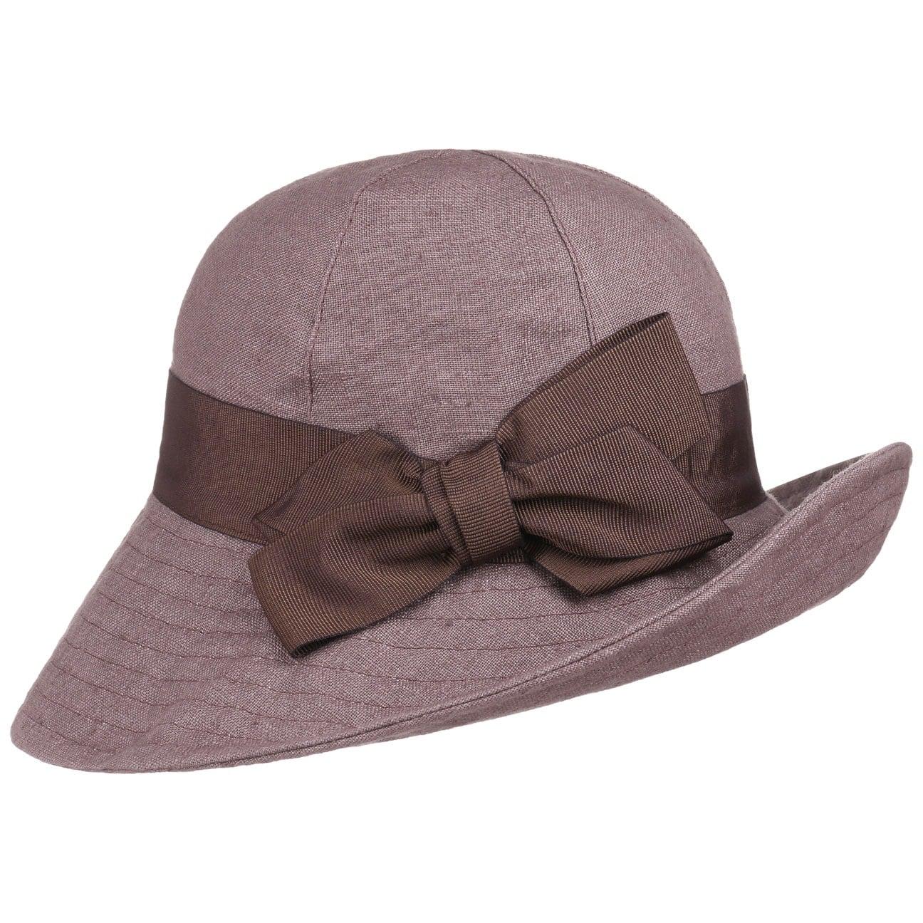 Chapeau à Larges Bords en Lin by bedacht  chapeau pour femme
