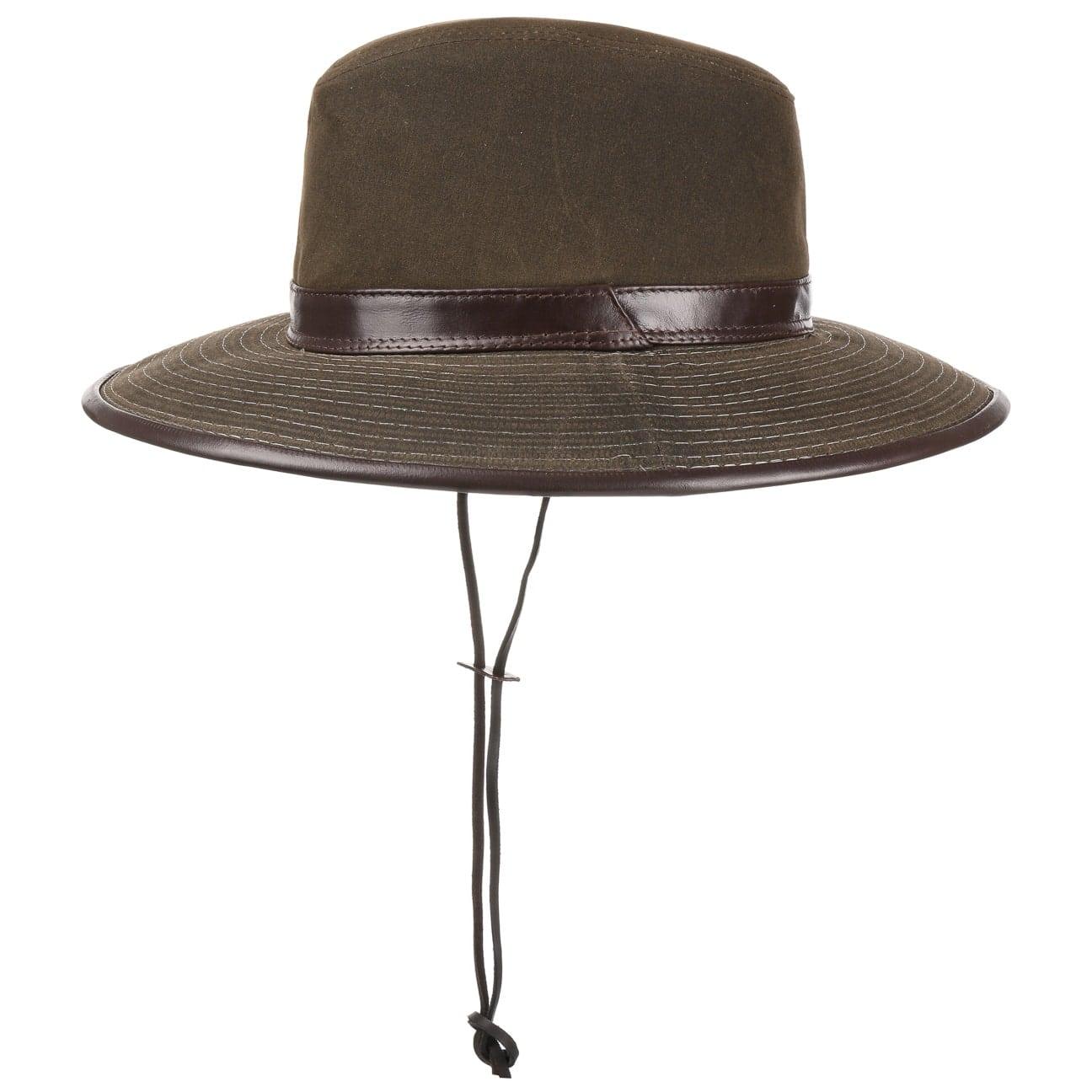 Chapeau Safari Oiled Cotton  chapeau de soleil