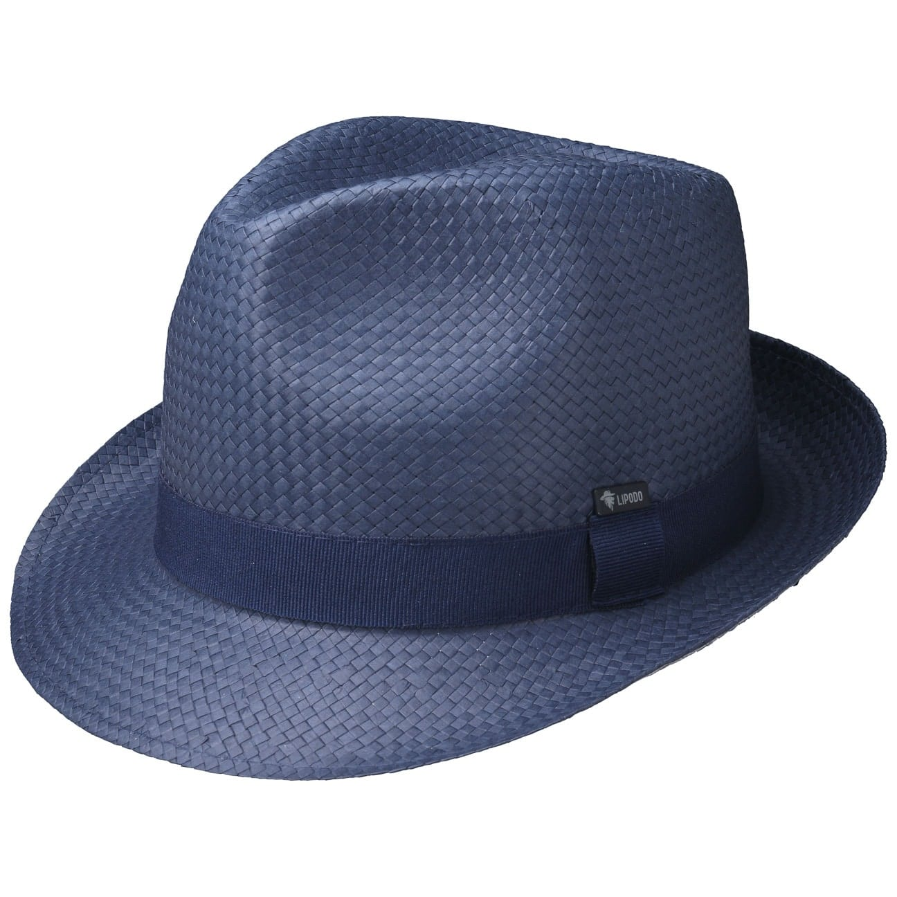Chapeau en Paille Colour City Trilby by Lipodo  chapeau de soleil