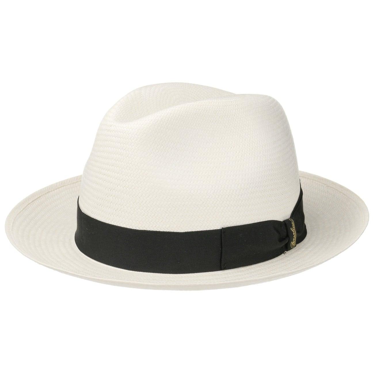 Chapeau Panama Black Small by Borsalino  Fedora