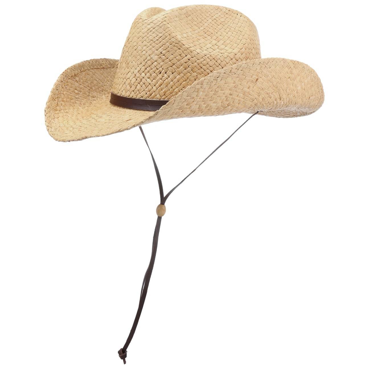 Chapeau Raphia Western Shapeable by Conner  chapeau dété