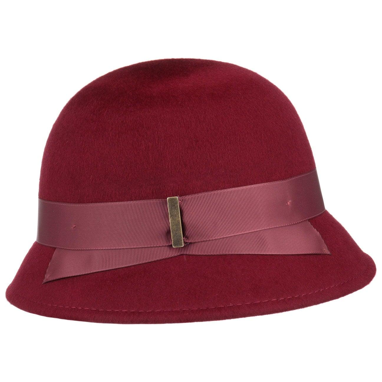 Chapeau Cloche Charleston Laine by Betmar  chapeaux de feutre