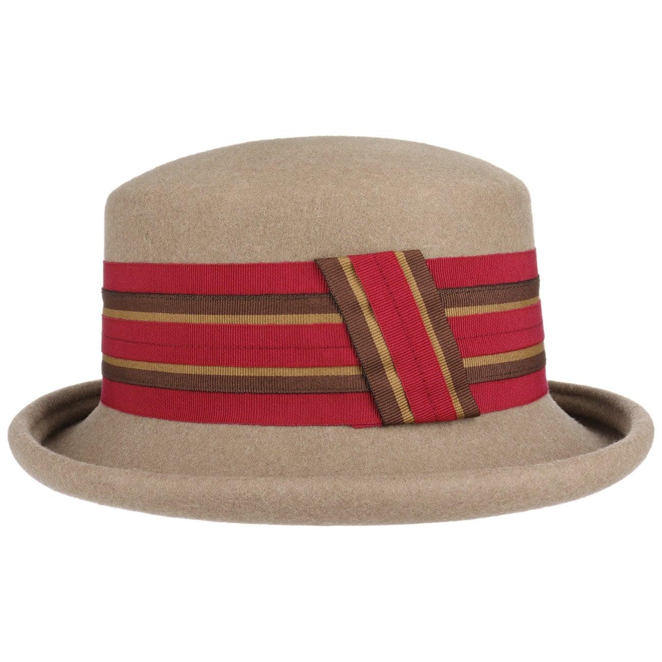 Chapeau Feutre Striped Ribbon by bedacht  chapeau en feutre de laine