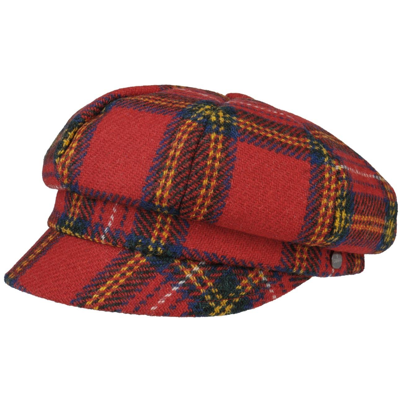 Casquette Gavroche Harris Tweed Écossais by Lierys  casquette pour l`hiver