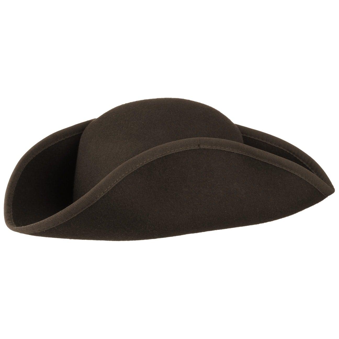 Chapeau en Feutre Tricorne by Lipodo  chapeau