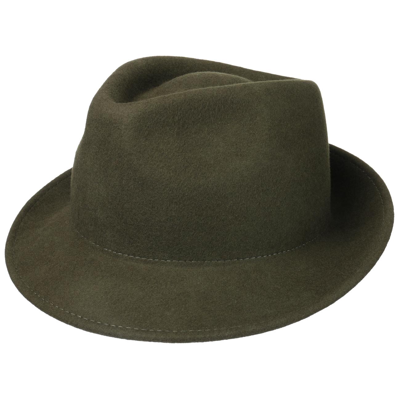 Chapeau en Feutre Uni Trilby by Lipodo  chapeau pour homme