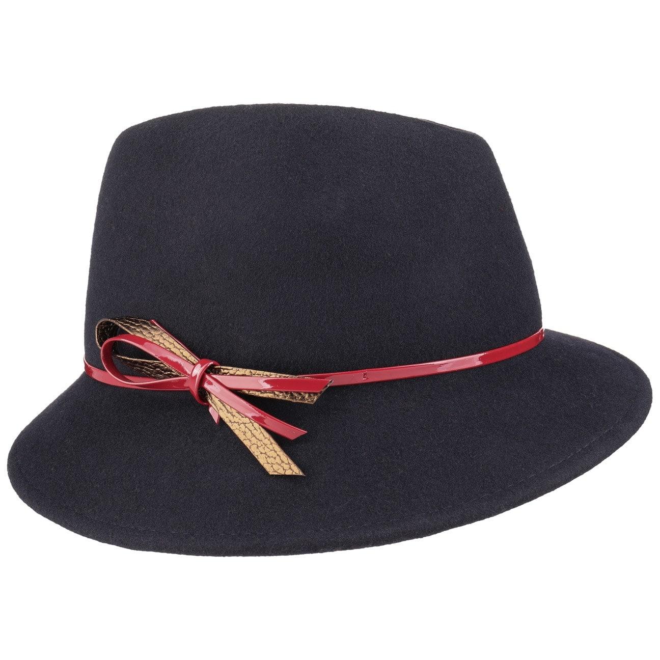 Chapeau pour Femme Nœud Laqué by Lierys  chapeau en feutre de laine