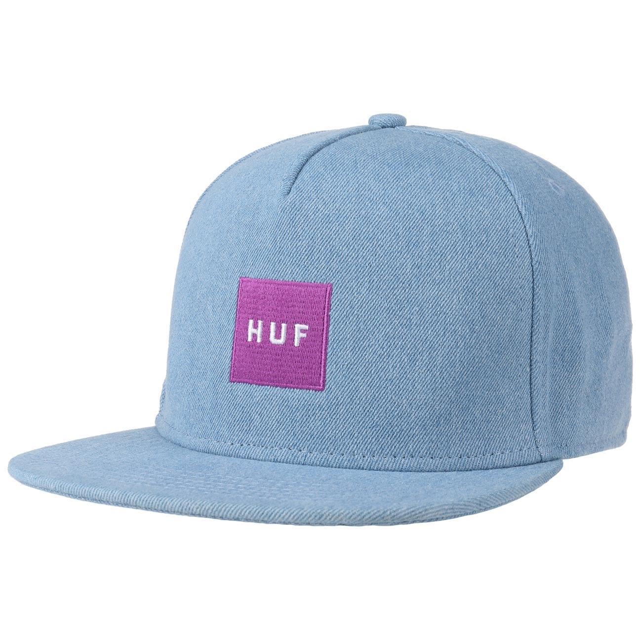 Casquette Snapback Denim Box Logo by HUF  baseball cap