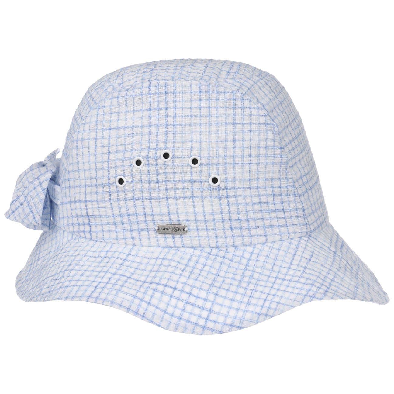 Chapeau en Coton Checked by McBURN  chapeau d`été