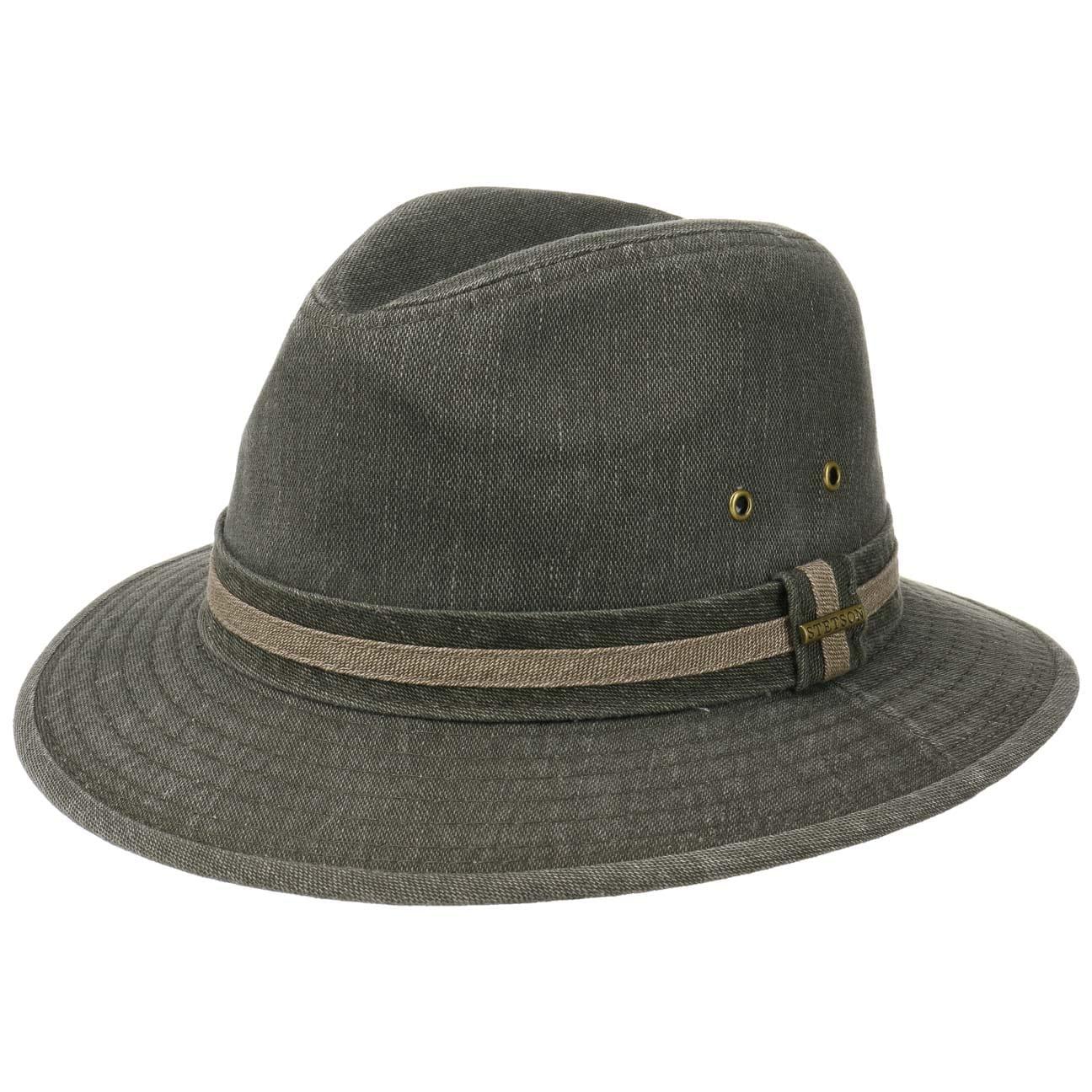 Chapeau Cadosia Cotton Traveller by Stetson  chapeau en coton