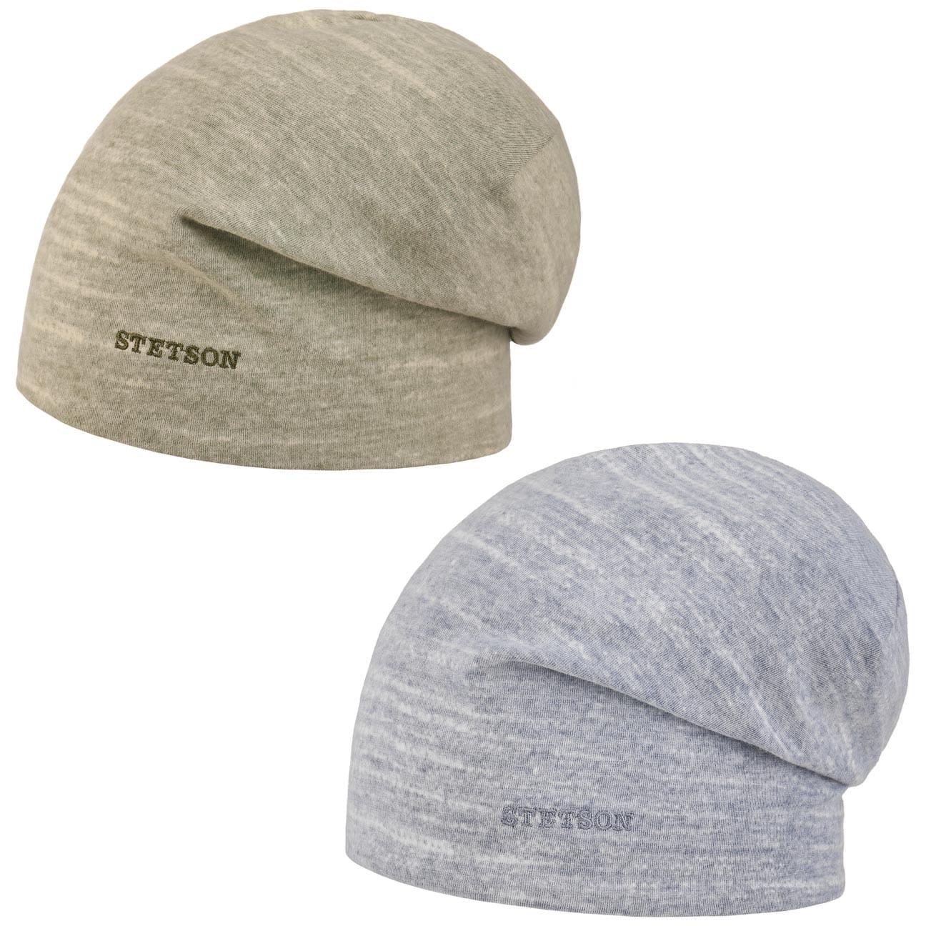 Bonnet Réversible Printed Jersey by Stetson  bonnet d`intérieur