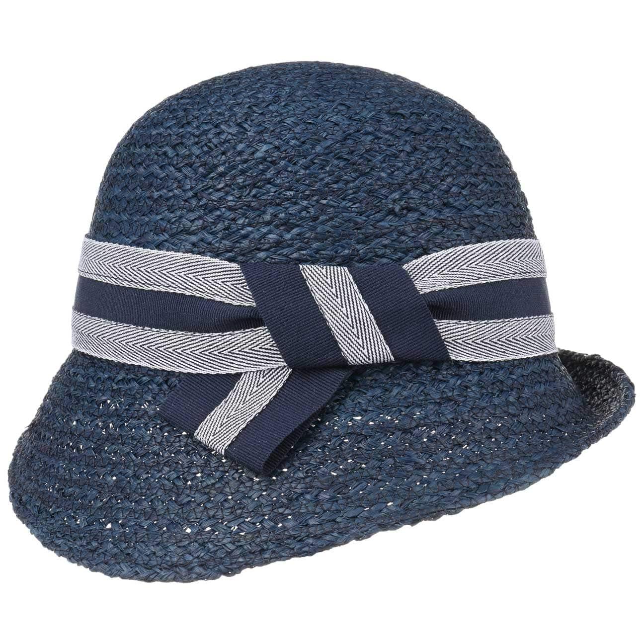 Chapeau Cloche de Raphia Yvonne by bedacht  chapeau pour femme