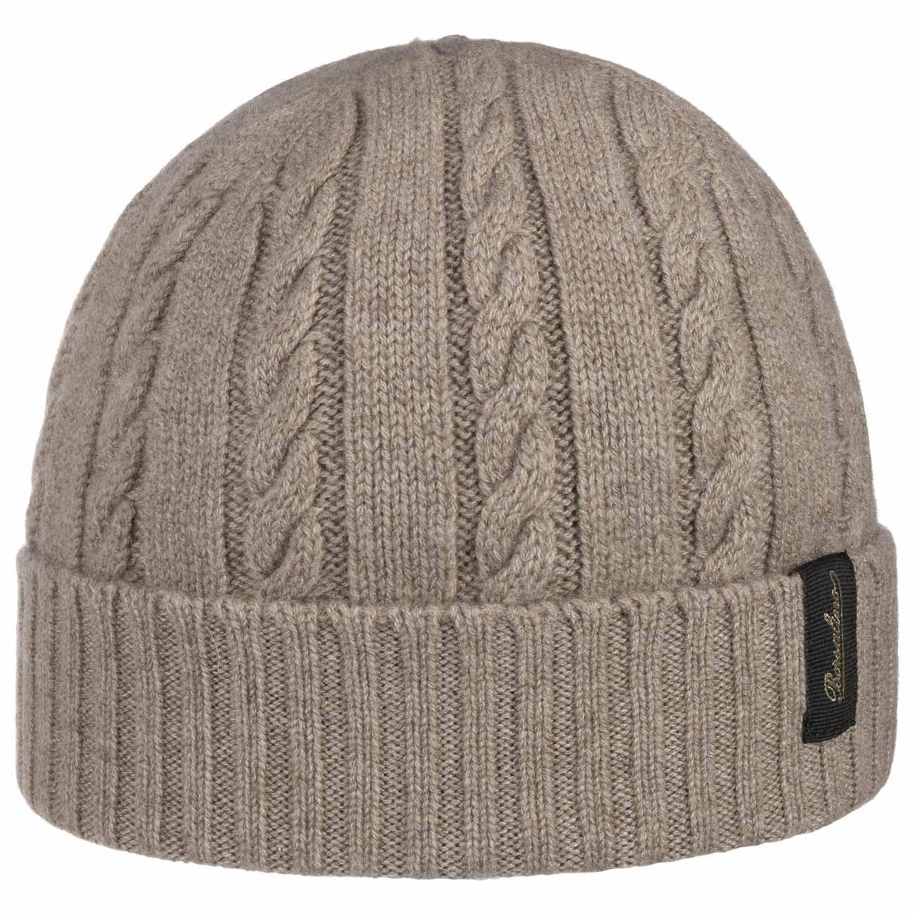 Bonnet en Cachemire Cable by Borsalino  bonnet pour l`hiver