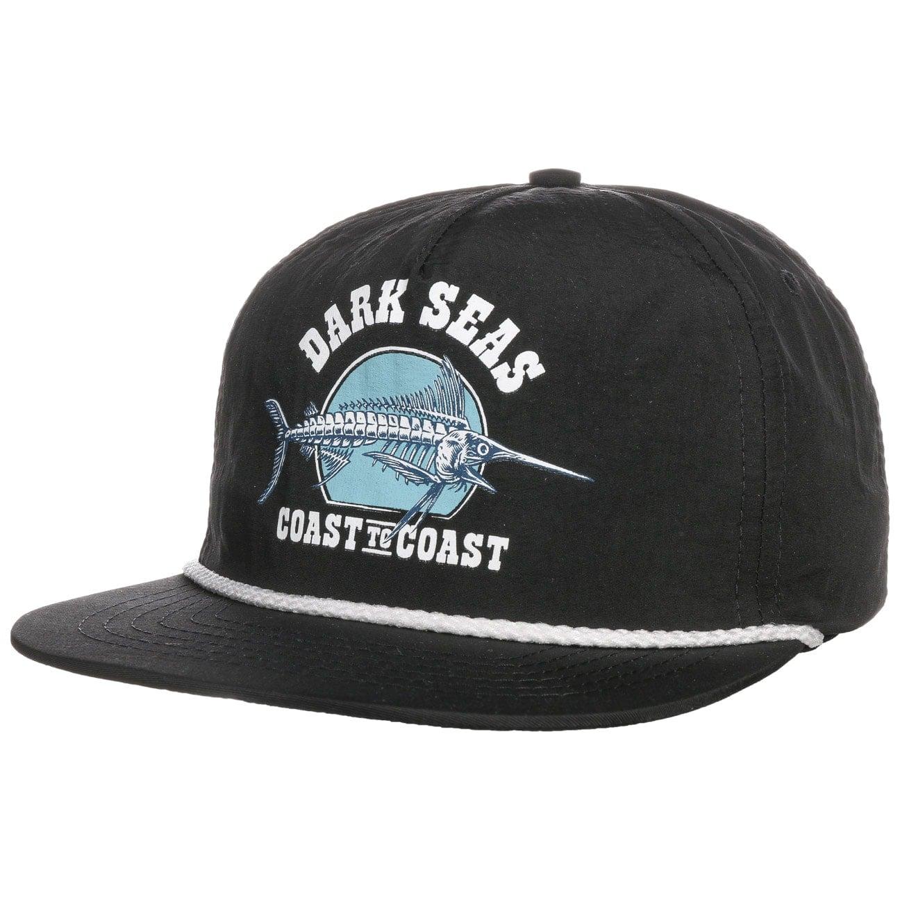 Casquette Snapback Black Jack by Dark Seas  casquette visière plate