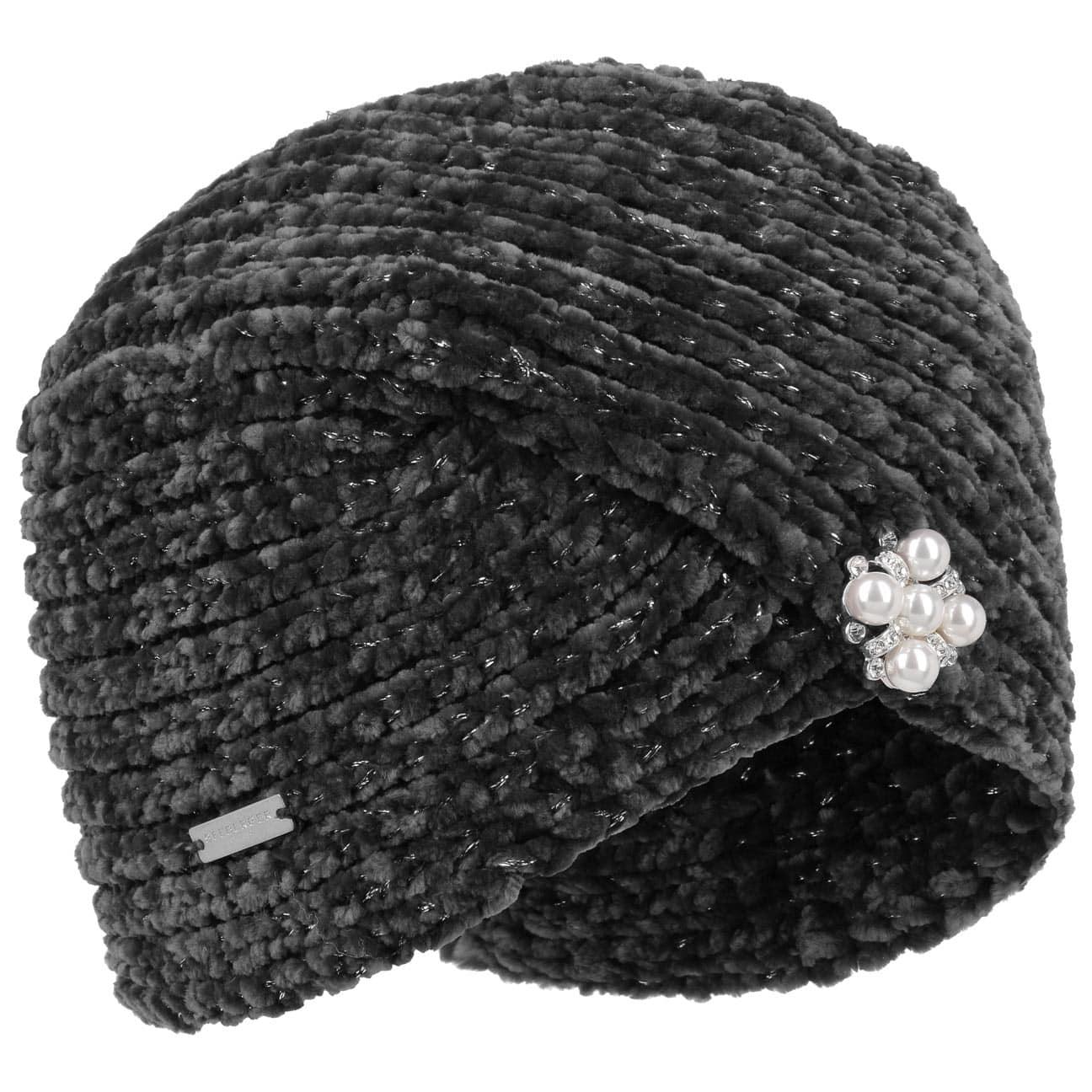 Turban Chenille by Seeberger  bonnet pour l`hiver