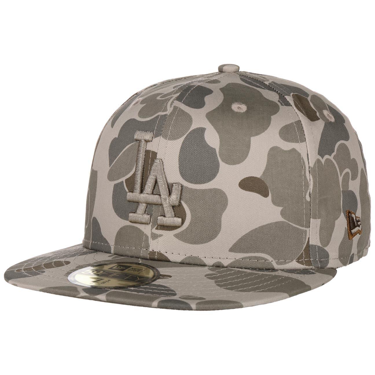 Casquette 59Fifty Camo Dodgers by New Era  baseball cap