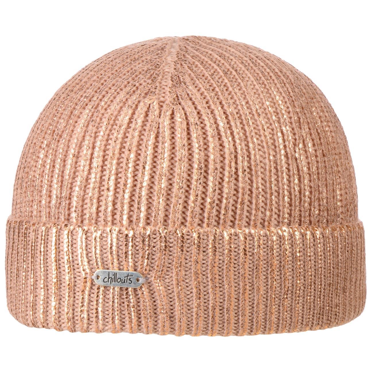 Bonnet à Revers Fiona Metallic Look by Chillouts  bonnet en tricot