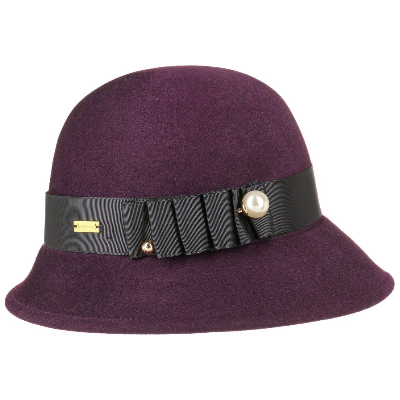 Chapeau Cloche pour Femme Cassat by Betmar  chapeau cloche en feutre