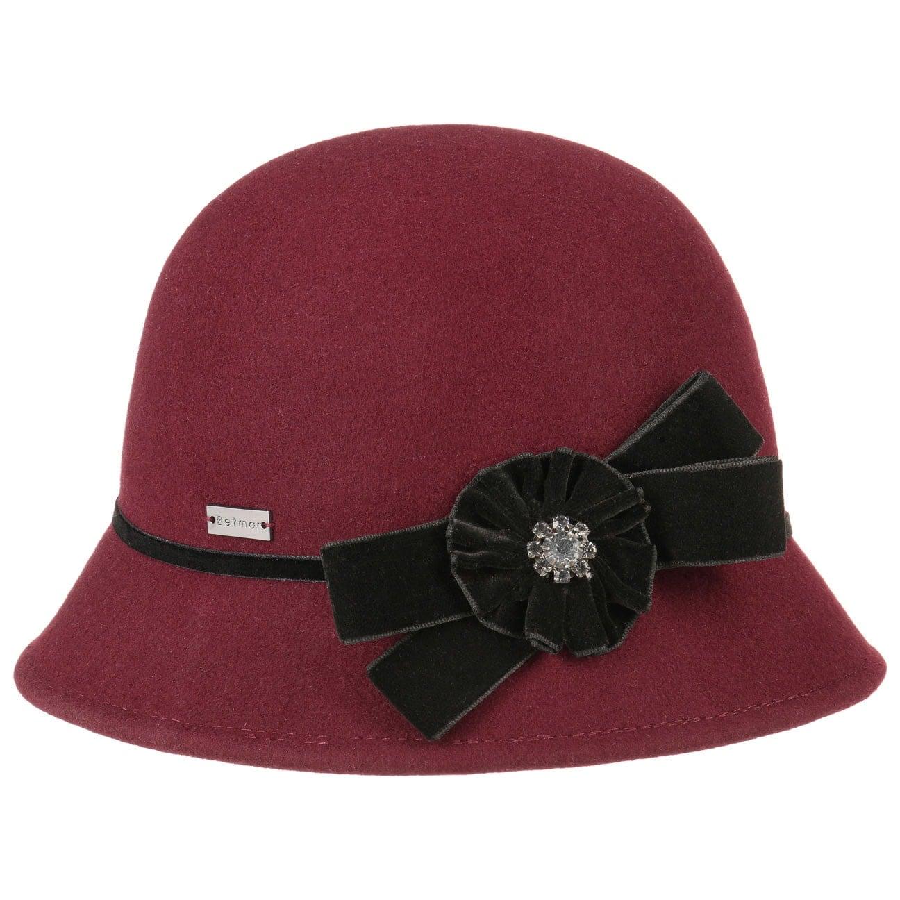 Chapeau en Cloche pour Femme Nella by Betmar  chapeau cloche en feutre