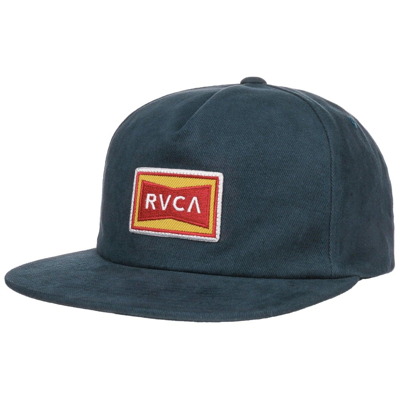 Casquette Snapback Cotton by RVCA  casquette visière plate