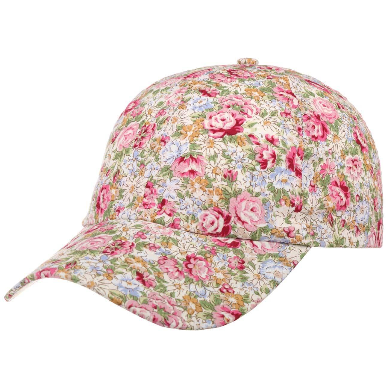 Casquette Allover Flowers by Lipodo  casquette pour femme