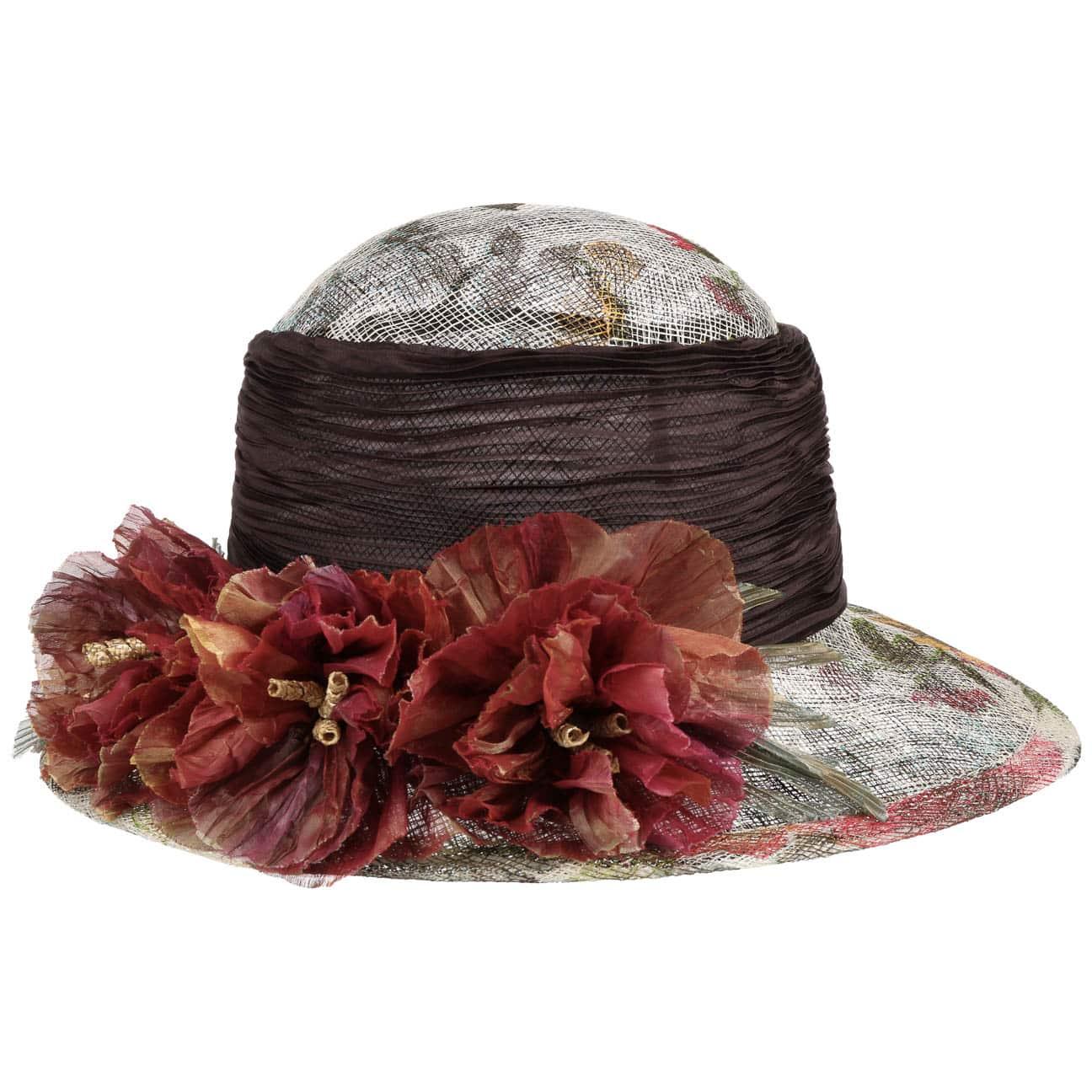 Chapeau de Fête Abacá Flower by GREVI  chapeau pour femme