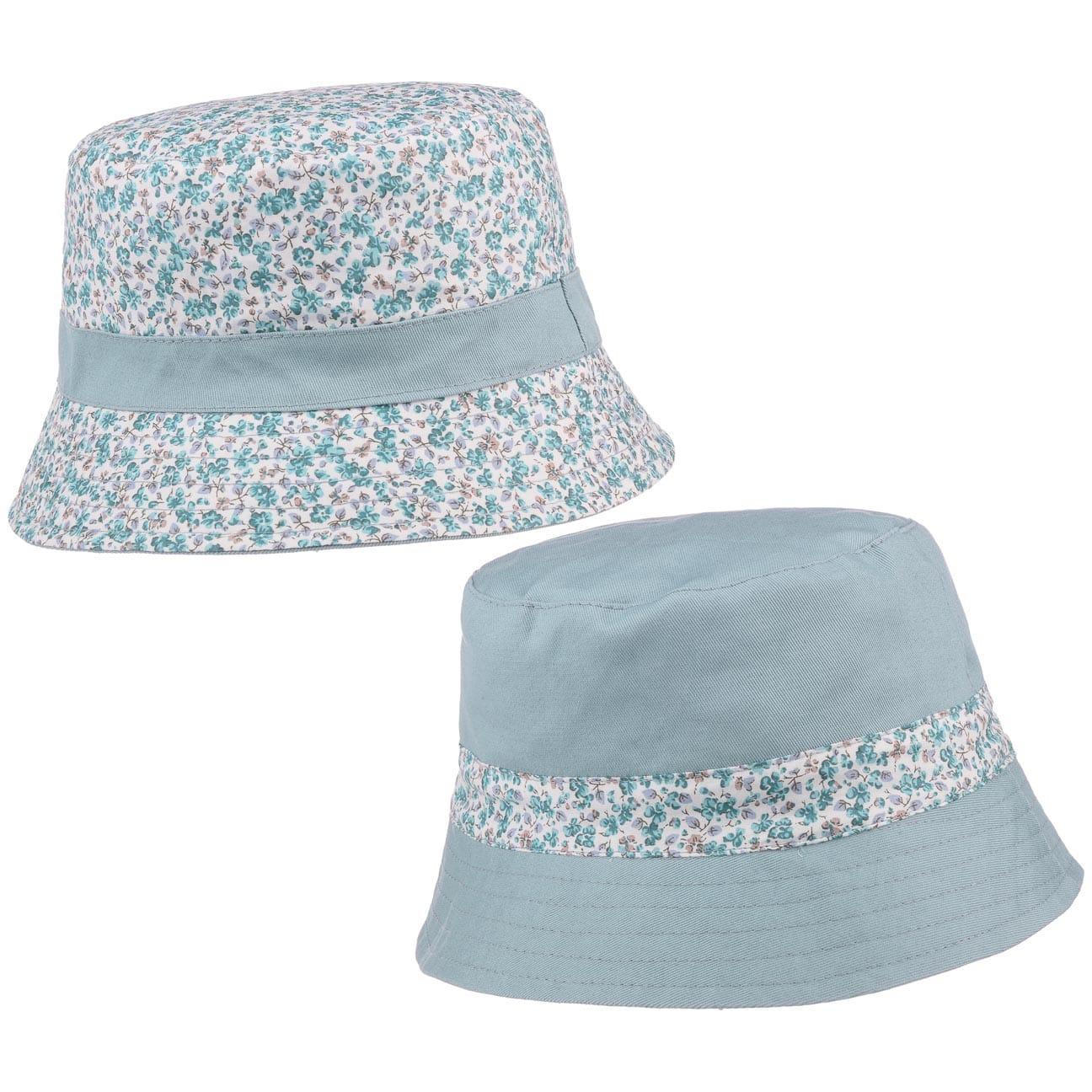 Chapeau Réversible Flowers by McBURN  chapeau en coton