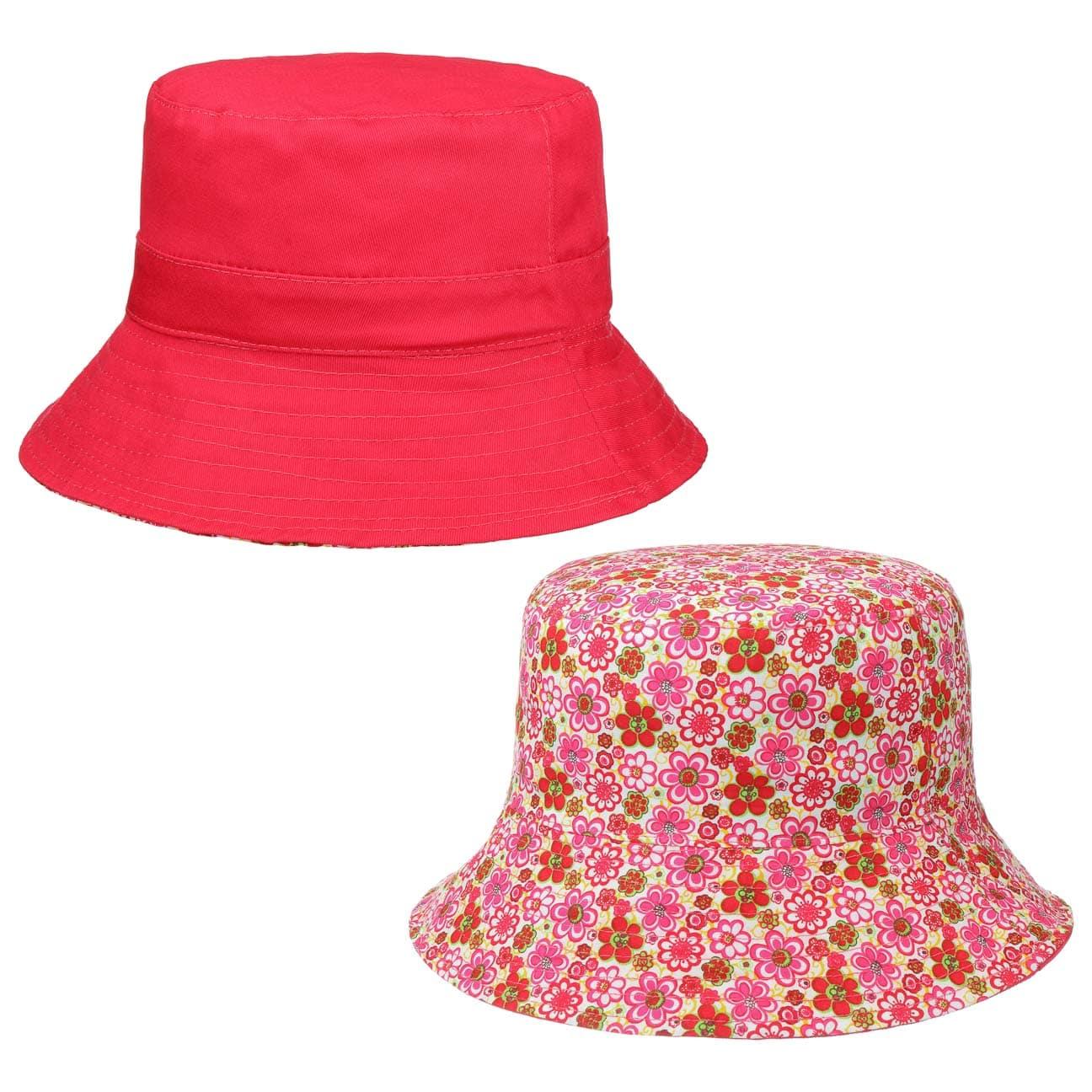 Chapeau Réversible Uni avec Fleurs by McBURN  chapeau pour le jardin