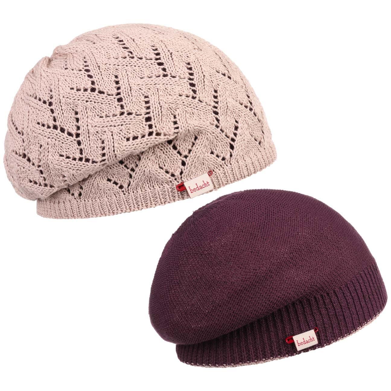 Bonnet Réversible Bamita by bedacht  bonnet pour femme