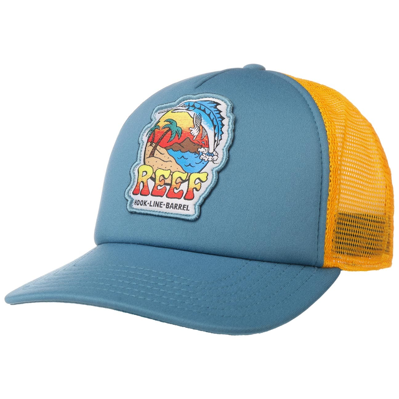Casquette Trucker Surfable Deep Sea Fish by Reef  casquette trucker