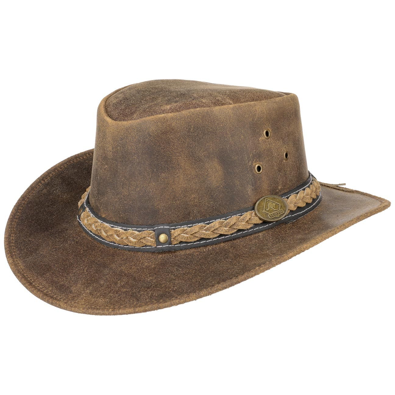 Chapeau en Cuir William by Scippis  chapeau outback