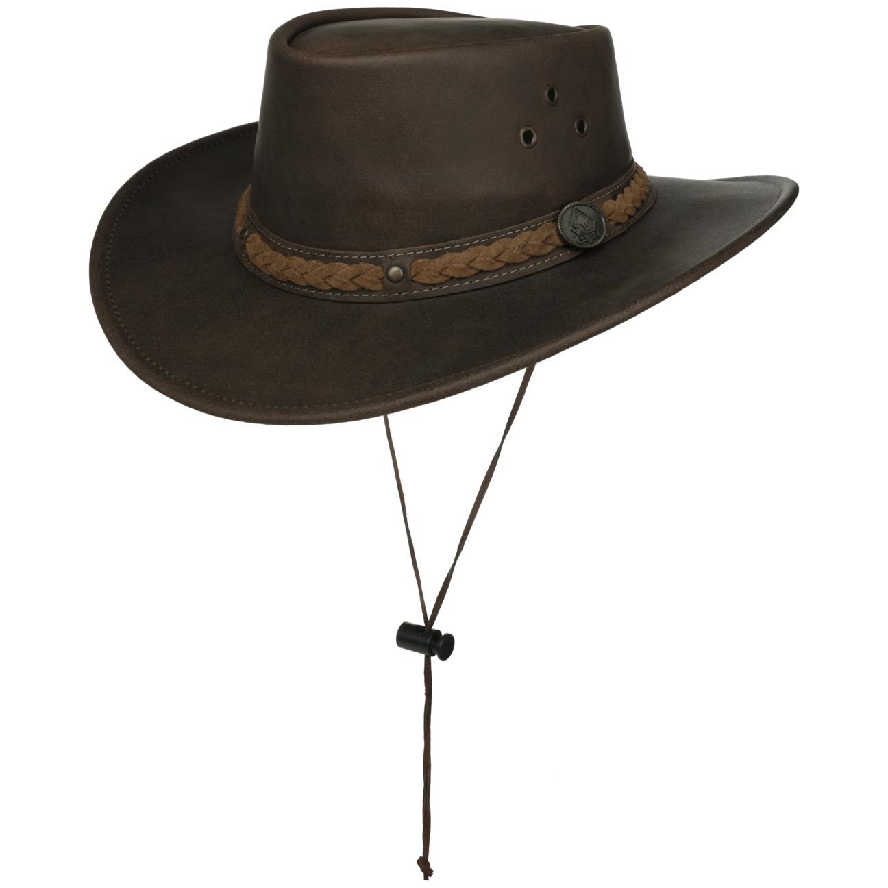 Chapeau en Cuir Townsville by Scippis  chapeau outback