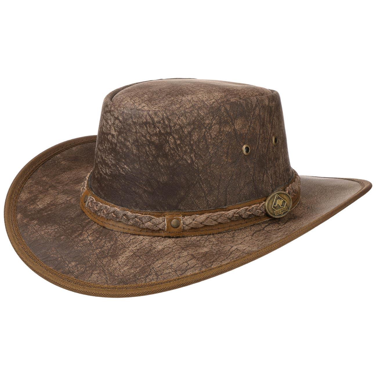 Chapeau en Cuir Springbrook by Scippis  chapeau outback