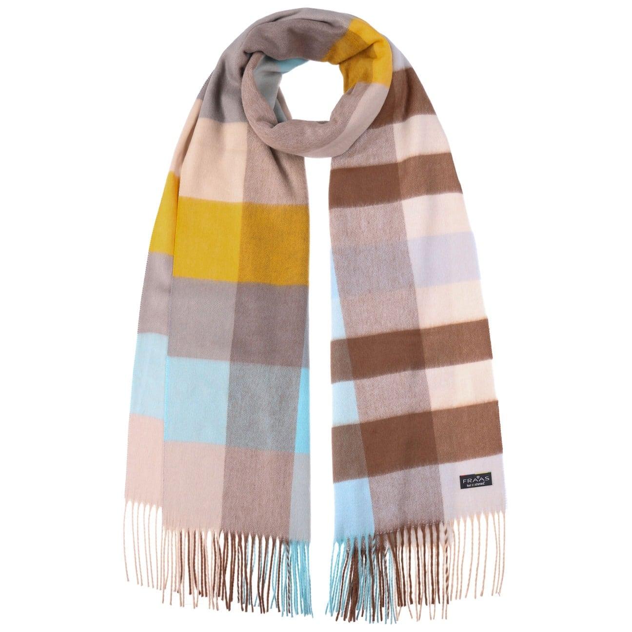 Écharpe à Carreaux Colour-Fresh by Fraas  écharpe pour l`hiver