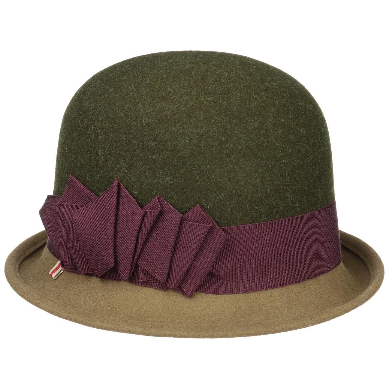 Chapeau en Feutre Twotone Cloche by bedacht  chapeau en feutre de laine
