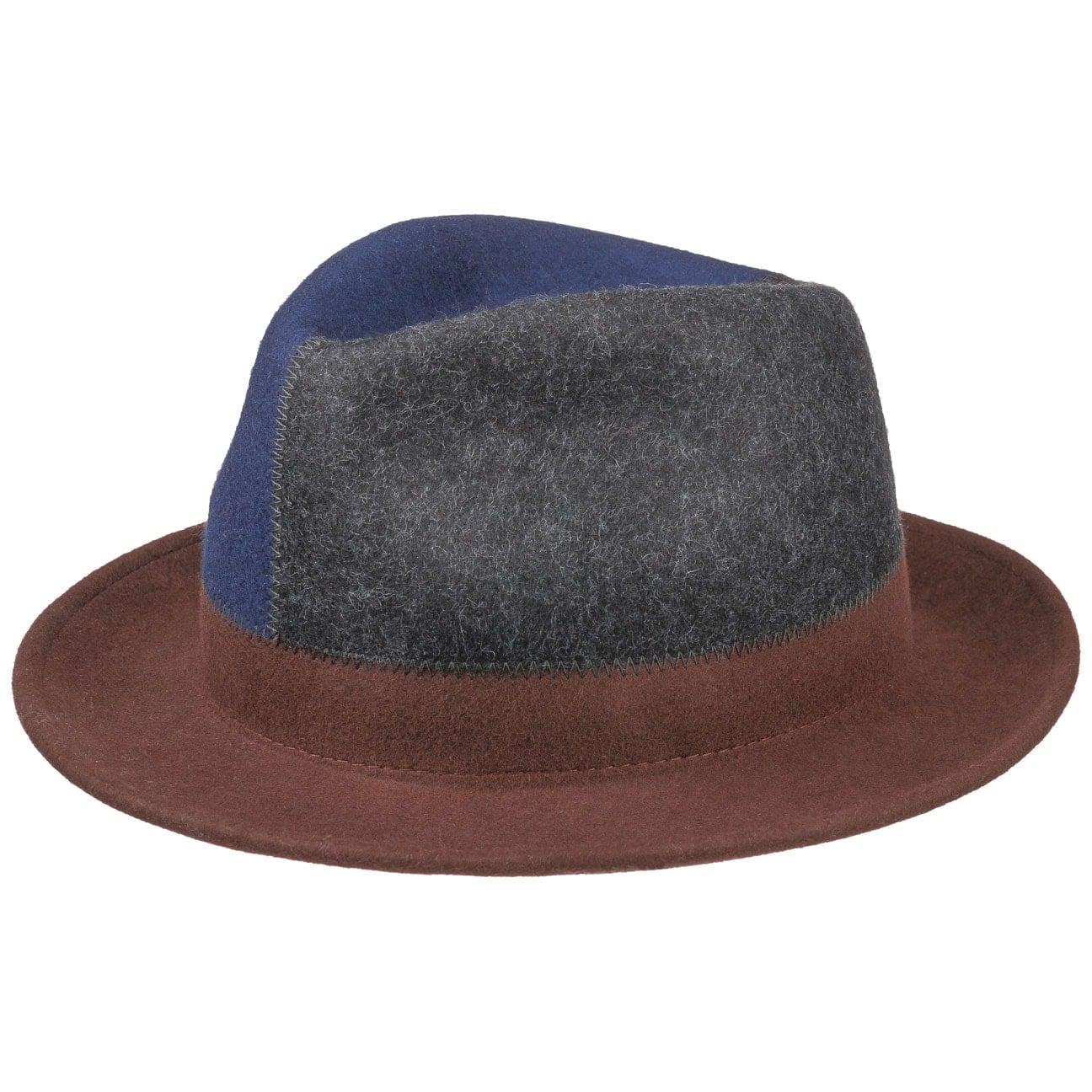 Chapeau en Feutre de Laine Tricolour by bedacht  chapeau en laine