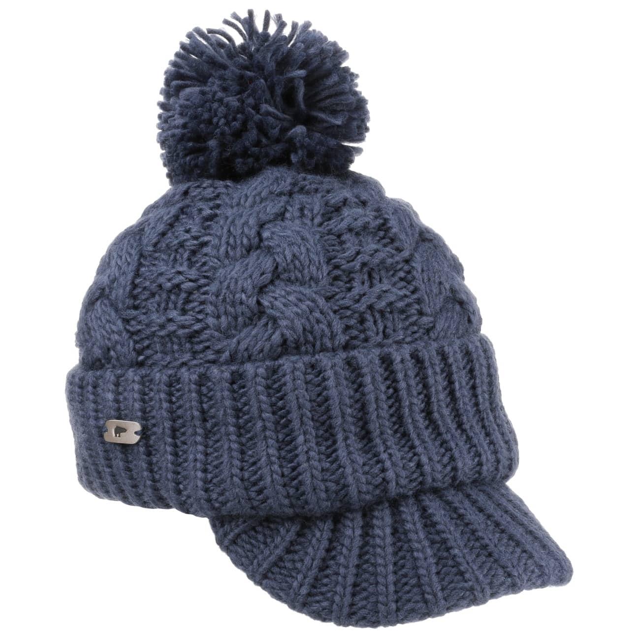 Bonnet en Tricot Keno by Eisbär  bonnet à pompon